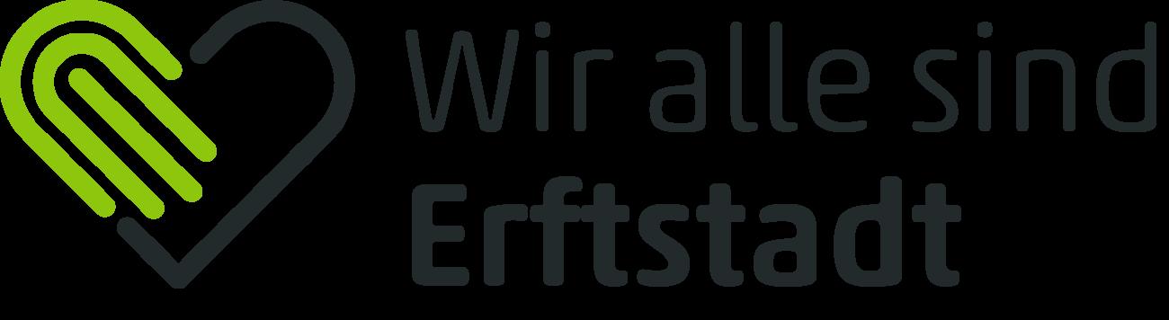 Logo Wir sind alle Erftstadt   Der Benefiztag zu Gunsten der Flutopfer